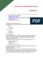 materiales clasificacion