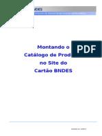 Manual Do Fabricante - Montagem de Catalogo