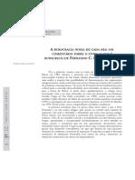 Comentário Livro o Que Burocracia - Coleção Primeiros Passos