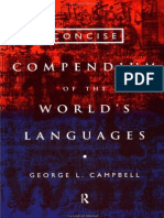 George L. Campbell Concise Compendium of the Worlds Languages, 1994