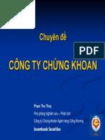 Chuyen de Cong Ty Chung Khoan