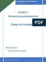 Unidad 2 Numeros Pseudoaleatorios