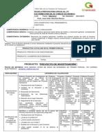 Rúbrica de Toma de Decisiones 1 2014 Turno Matutino