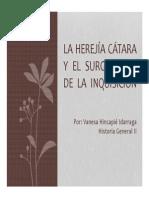 Unidad 7 La Herejía Cátara y El Surgimiento de La Inquisición - Vanesa Hincapié