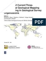 Synopsis of Current Threedimensional Geological Mapping and Modeling in Geological Survey Organizations
