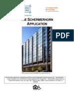 Schermerhorn Application
