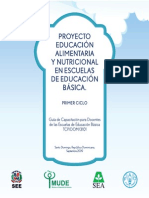 Proyecto de Laimentacion y Nutricion