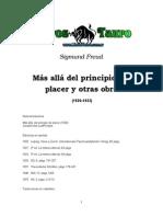Freud, Sigmund - Mas Alla Del Principio Del Placer y Otras Obras