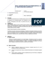 Plan Convivencia 7241 -2014