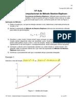 Aula14 Implementação Do Método de Newton-Raphson