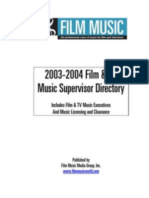 2003 Supervisor Directory
