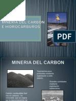 Mineria Del Carbon e Hidrocarburos