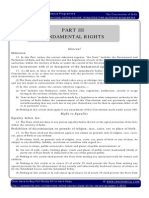 IGP CSAT Paper 1 Indian Polity Fundamental Rights