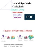 Alcohols-structure and Synthesis 2