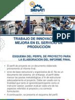 Trabajo de Innovación y o Mejora
