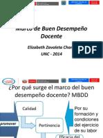 Marco Del Buen Desempeño Decente Ely Chang UNC 2014