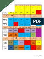 grade 3-4 final timetable 2014