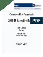 2014-15 Budget Slide Presentation