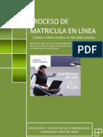 Manual de Matricula en Linea New