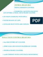 Pollution Control Measures