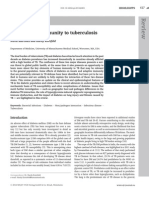 Diabetes and Immunity to Tuberculosis