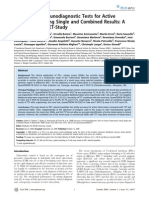 Accuracy of Immunodiagnostic Tests for Active