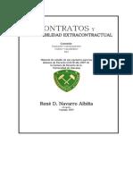 Contratos y La Responsabilidad Extracontractual - Rene Navarro Albi A