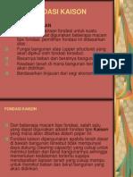 Rekayasa Fondasi III (Fondasi Kaison)