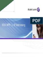 MPR IP Addressing