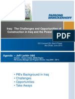 Iraq-The Challenges and Opportunities of Power Sector