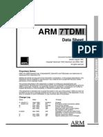 ARM7 TDMI Manual Pt1