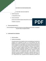 Estructura Del Proyecto de Investigación Acción