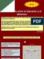 Distanciaza Atacante y Defensor