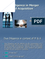 Due Diligence in Merger and Acquisition