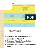 Vitamin a Deficiency FINAL