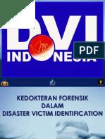 DVI Kedokteran Forensik in DVI