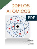 Modelos Atomicos Nicolas Castellano 4ºB