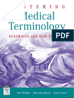 Mastering Medical Terminology Australia and New Zealand Walker 9780729541114