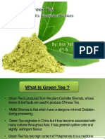 Green Tea Ppt