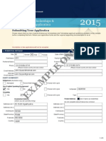 Application 2015 Example