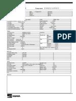 Vertical MultiStage Pump Data Sheet