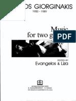 Giorginakis, 2 Guitars
