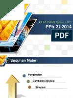 Modul Tutorial ESPT PPh 21 2014