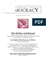Journal of Democracy, July 2014, Volume 25, Number 3