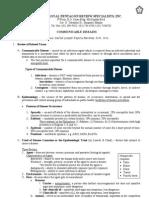 15351409 Communicable Disease Nursing Part i Introduction