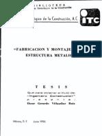Montaje Estructura Metalica-Tesis