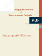 4 M&E of Programs and Projects 2