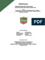 80605870 Proposal Bantuan Dana Infrastruktur