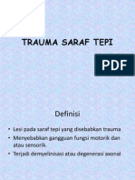 Trauma Saraf Tepi