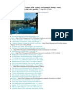 Environmental science posts, links in August 2014. 97 Posts. http://ru.scribd.com/doc/238225683/
